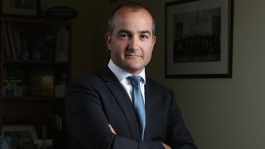 Victoria's Deputy Premier and Minister for Emergency Services, James Merlino.