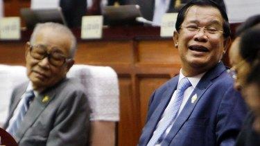 Cambodian Prime Minister Hun Sen in Phnom Penh last week.