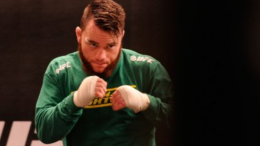 Brisbane's Brendan O'Reilly has won a spot on the card for UFC 193.