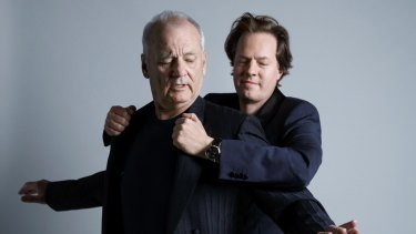 Bill Murray and Jan Vogler, who suggested the pair put on a show after being surprised at Murray's command of the American songbook.