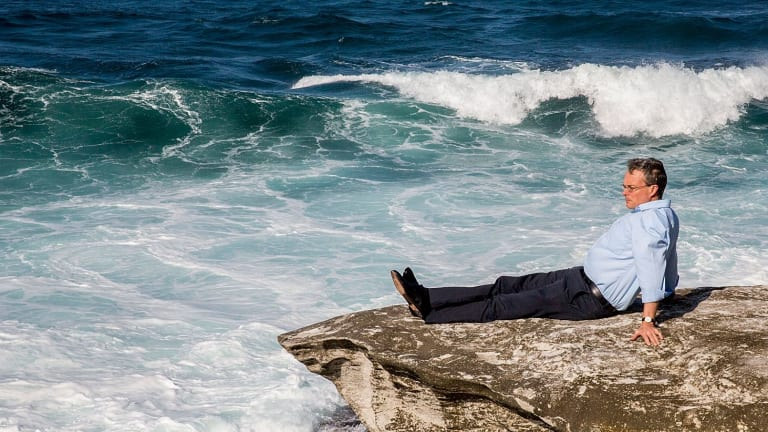Andy Pitman, director of the ARC Centre of Excellence for Climate Extremes at the University of New South Wales, pictured at Coogee.