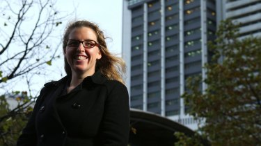 Natasha Langdon has invested some money with a peer-to-peer lender where she is earning more than 8 per cent.