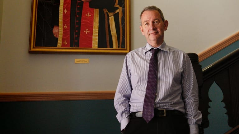 Australian Catholic University Vice-Chancellor Greg Craven, who headed the government review into teacher education.
