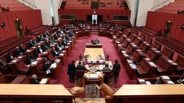 The Turnbull government does not hold a majority in the Senate.