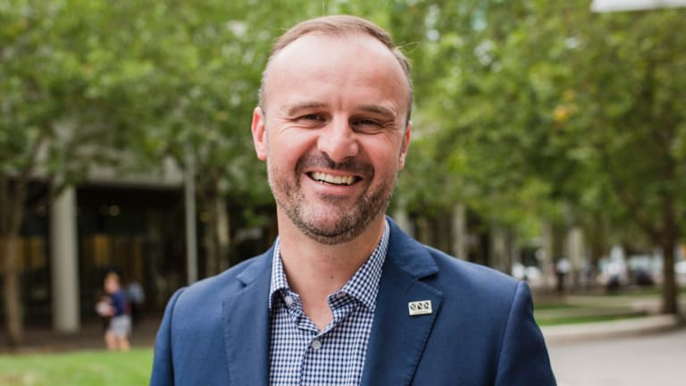 ACT Chief Minister Andrew Barr: Clubs ACT is a wreckage and a joke.