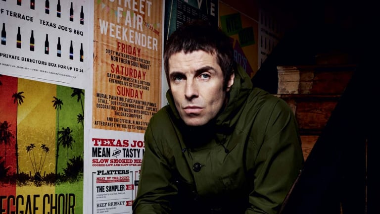 Liam Gallagher is hoping to soak up some sun Down Under.