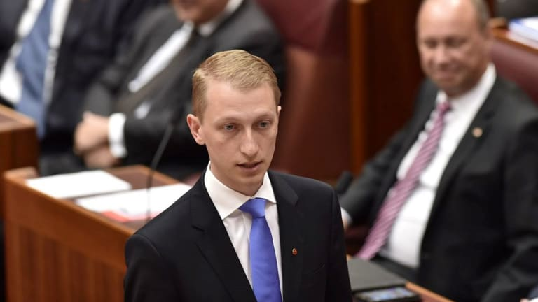 Liberal senator James Paterson has vowed to sort out Section 18C of the Racial Discrimination Act.