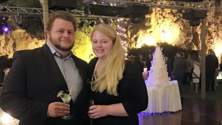 This 2015 family photo shows Alexander Pinczowski and his fiance Cameron Cain in Greece. Belgian authorities and the Dutch Embassy positively identified the remains of Alexander Pinczowski, and his sister, Sascha Pinczowski.