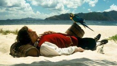 Vexation Island, 1997 (still) Video, on loan from Rodney Graham