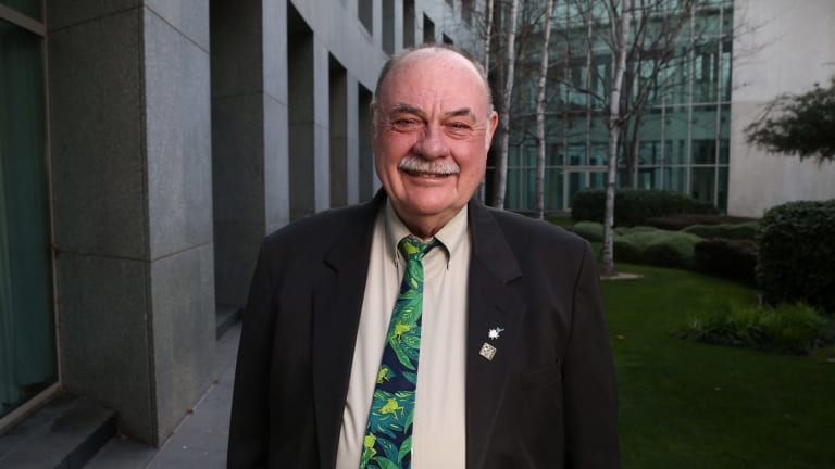 Liberal MPs Warren Entsch is part of a group of cross-party MPs pushing to legislate same-sex marriage.