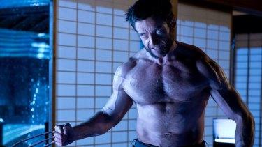 Hugh Jackman in his role as Wolverine.