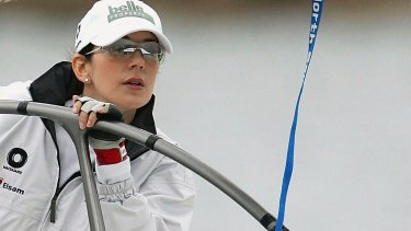 Prince Mary of Denmark was in winning form when she raced against her husband Prince Frederik in 2005.