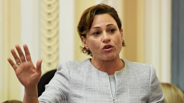 Deputy Premier Jackie Trad shared her support for marriage equality.