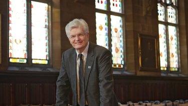 Melbourne University vice-chancellor Glyn Davis.