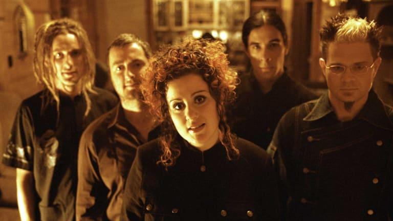 Rock band george - Paulie Bromley, Geoff Green, Katie Noonan, Nick Stewart and Tyrone Noonan - are reforming for the Brisbane Festival.