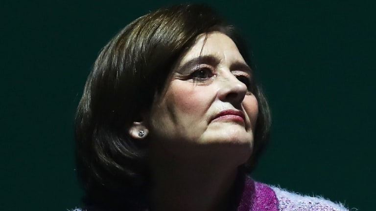 Cherie Blair, head of the Blair Foundation for Women, is among those attending the forum.