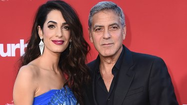 Former commitment phobe George Clooney, pictured with wife Amal Clooney, is starting to sound like the ultimate woke feminist ally.