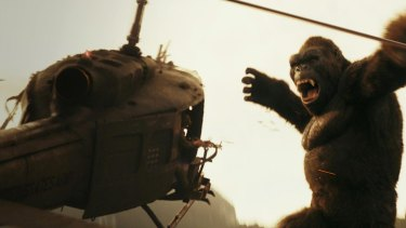 Don't mess with King Kong.