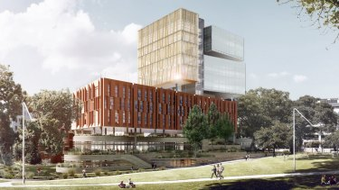 The new school will look over Prince Alfred Park.