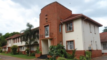 St Joseph's Orphanage in Harare, where many of those he sponsored spent their early years.