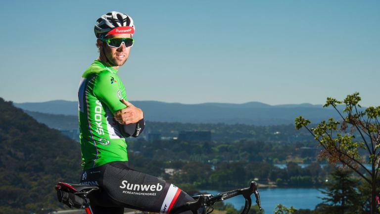 Triple treat: Tour de France green jersey winner Michael Matthews has swept the awards pool.