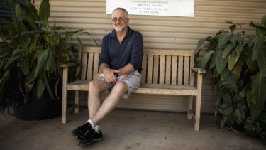 """More needs to be done"": Geoff Davis, a long-term resident and supporter of the Marninwarntikura Women's Resource Centre."