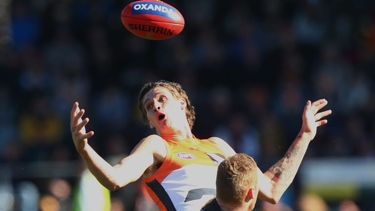 Wanted: Rory Lobb is a potential ruck target for Fremantle.