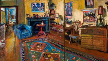 Margaret Olley's The Yellow Room Triptych.