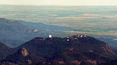 The Australian Astronomical Observatory at Siding Spring. This telescope started the mapping of galaxies used by the GAMA research project.