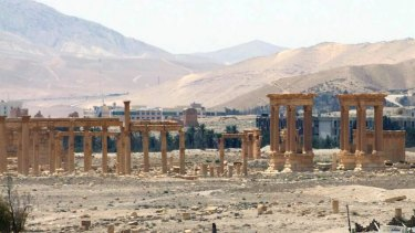 The ancient Roman city of Palmyra, northeast of Damascus, Syria. Islamic State militants have blown up one of the most important temples in the ancient Syrian city of Palmyra, accelerating their relentless campaign of destruction against the historical treasures.