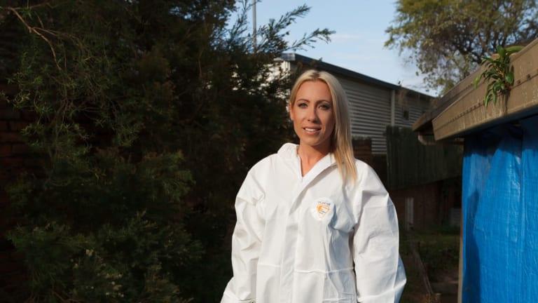 Donna Nayler, Forensic Cleaner.
