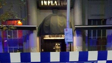 Inflation nightclub in King Street.