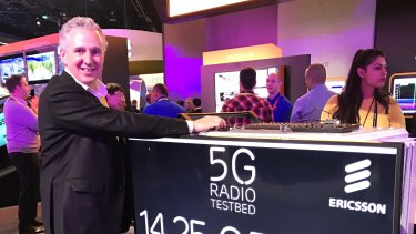 Andy Penn at the Consumer Electronics Show in Las Vegas earlier this year.