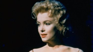 Monroe portrays a cafe singer in a rodeo town in 1956 film, Bus Stop, which her company produced.