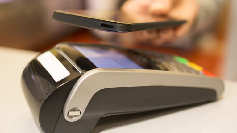 NFC chips are increasingly used for instant payment methods, including via smartphones.