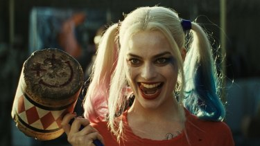 Margot Robbie as Harley Quinn in the film Suicide Squad.