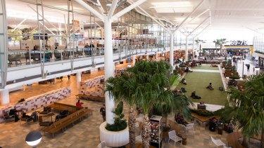 The new-look Brisbane Airport international terminal.