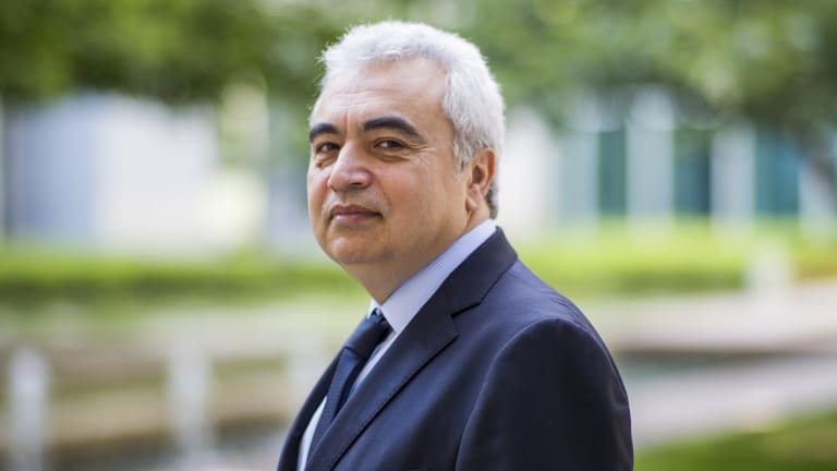Fatih Birol, IEA's director-general, during a visit to Canberra in 2016.