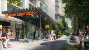 Cross River Rail's proposed Albert Street Station will be the first new rail station in the CBD for 100 years.