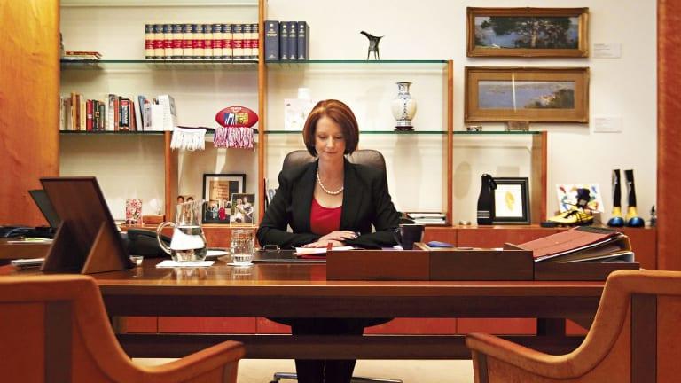 Former prime minister Julia Gillard.