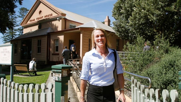 Former senior constable Lucie Litchfield says resigning from the force was not a decision she wanted to make, it was something she was forced into.