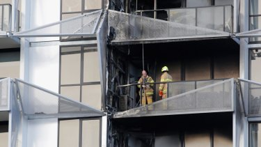 A 2013 fire at the Lacrosse building in Docklands prompted the initial VBA probe.