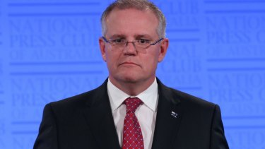 Treasurer Scott Morrison: He agrees with Ray Hadley.