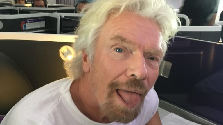 Richard Branson: Not alone in the space business.