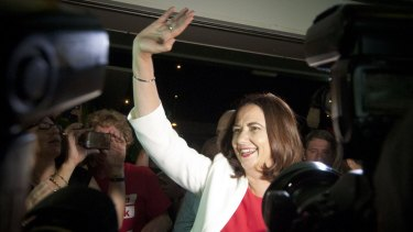 """Premier Annastacia Palaszczuk: """"If we can lock down this partnership, we can unlock the opportunities to Queensland this will bring."""""""