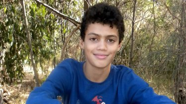Louis Tate, 13, died after a fatal allergic reaction at Frankston Hospital in 2015.
