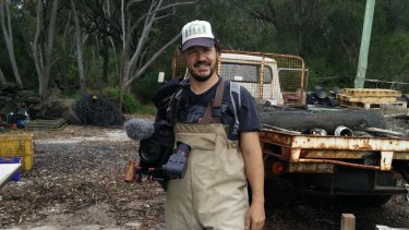 Filmmaker Kim Beamish has set his sights on the Merimbula oyster industry for his next documentary.