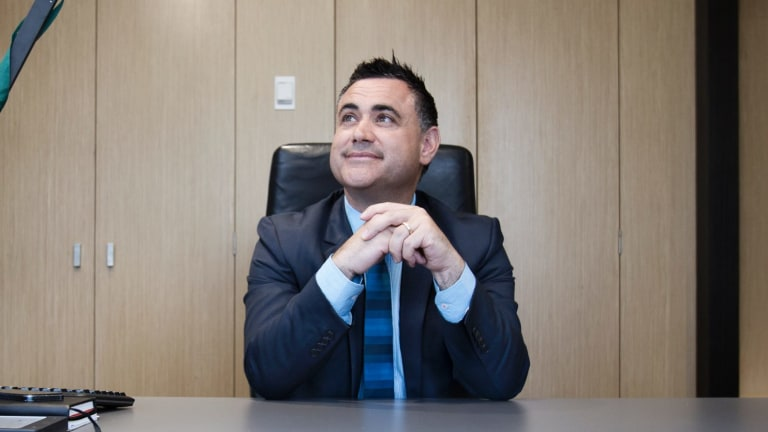 John Barilaro has become the next deputy premier and NSW Nationals leader.