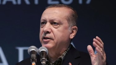 Erdogan has called on his country's citizens in Europe to step up their rates of procreation.