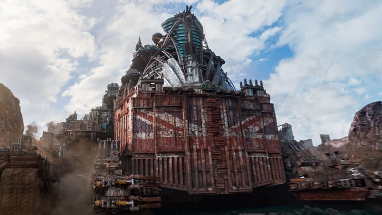 <i>Mortal Engines</I> brings a world of moveable 'predator' cities to the big screen.